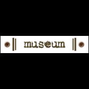 Travel Label- Museum