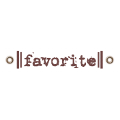 Travel Label- Favorite