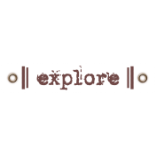 Travel Label- Explore