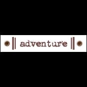 Travel Label- Adventure