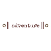 Travel Label- Adventure