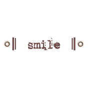 Travel Label- Smile
