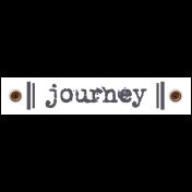 Travel Label- Journey