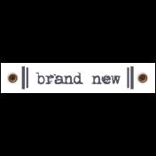 Travel Label- Brand New
