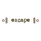 Travel Label- Escape