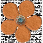 Taiwan Paper Flower- Orange