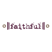 Taiwan Love Label- Faithful