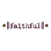 Taiwan Love Label- Faithful