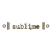 Taiwan Love Label- Sublime