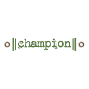 Taiwan Love Label- Champion