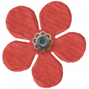 Taiwan Paper Flower- Red