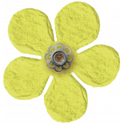 Taiwan Paper Flower- Yellow