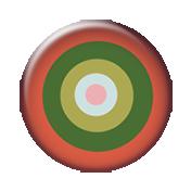 Change Target Brad- Peachy & Green