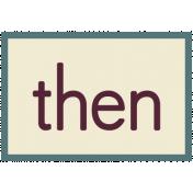 Then- Change Word Art