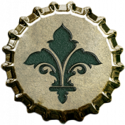 Bottle Cap- Filigree