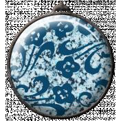 Circle Texture Brad- Floral