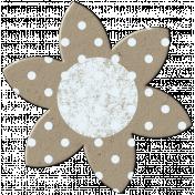 Cardboard Flower- Polka Dots