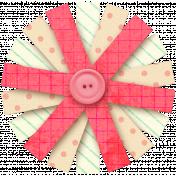 Vietnam Paper Flower 21- Pink & Cream