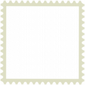 Vietnam Stamp Frame- 3x3- Round Edge Grey