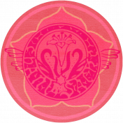 Vietnam Paper Coin- Pink & Floral