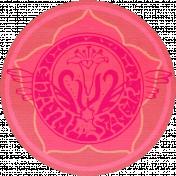 Vietnam Paper Coin- Pink & Floral