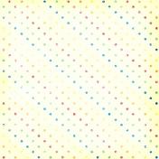 Polka Dots 08 Paper- Rainbow