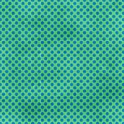 Polka Dots 23 Paper- Green & Blue