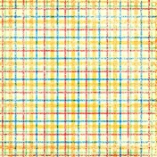 Plaid Paper- Yellow