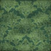 Vietnam Paper- Green Floral 30