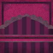 Vietnam Paper Cluster Background- Purple Arch