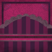 Vietnam Paper Cluster Background- Purple Arch