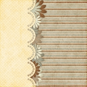 Vietnam Paper Cluster Background- Tan & Brown