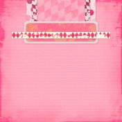 Vietnam Paper Cluster Background- Pink & Diamonds