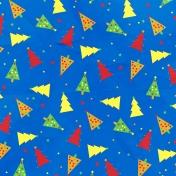 Christmas Cookies Paper- Trees