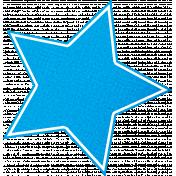 Christmas Cookies Blue Star