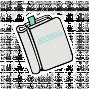 Journal Book Sticker