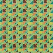 Dino Paper- Geometric