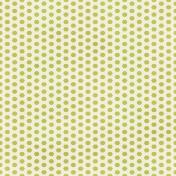 Dino Paper- Green Hexagon