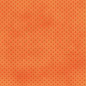 Dino Paper- Orange Polka Dot