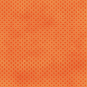Dino Paper- Orange Polka Dot