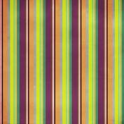 Stripes 47 Paper- Orange, Purple, Green