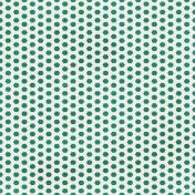 Dino Paper- Teal Hexagon