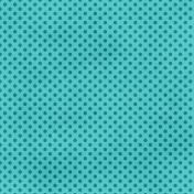 Dino Paper- Teal Polka Dot