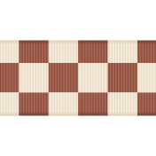 Fat Ribbon- Red & White Check