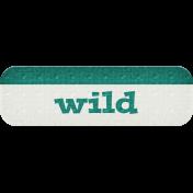 Wild- Dino Word Art