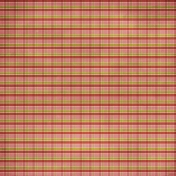 Plaid 18 Paper- Pink, Red & Green