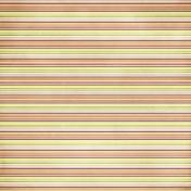 Stripes 51 Paper- Green & Orange