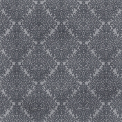 Berlin Damask Paper- Gray