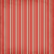 Stripes 49 Paper- Red & Brown