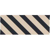 Berlin Striped Washi Tape- Diagonal